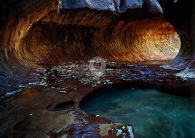 The Subway, North Creek Canyon, Zion National Park, Utah
