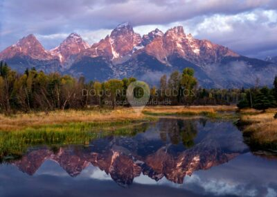 Schwabacher Landing in Grand Teton National Park, Wyoming