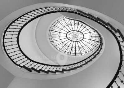 spiral staircase in Washington, DC