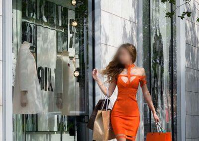 fashion glamour model
